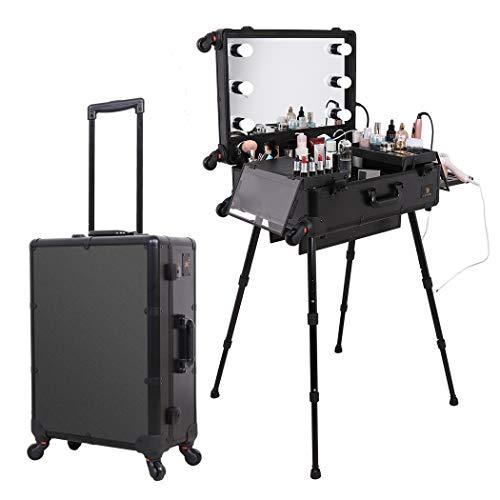 Luvodi Rolling Makeup Case Professional